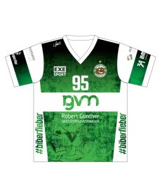 FREEZ JERSEY SUBLI MAN/KID - USV HALLE - green/white - U11