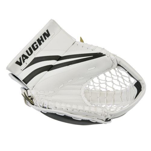 Goalie catch glove VAUGHN CATCHER VENTUS SLR white/black youth - FR - Catch gloves