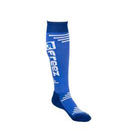 FREEZ QUEEN LONG SOCKS BLUE 35-38 - Stutzen und Socken