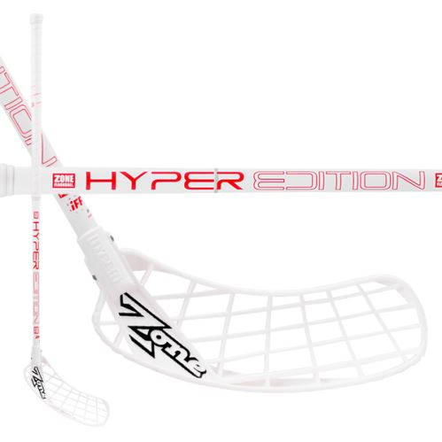 ZONE STICK HYPER Composite Light 29 white/red 92cm