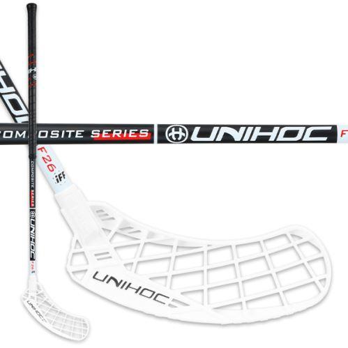 UNIHOC STICK EPIC Composite 26 black/white 96cm L