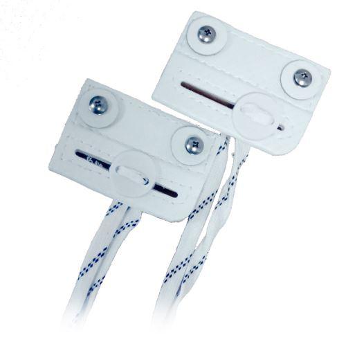 VAUGHN SLIDING TOE BAR XR white - pair - Accessories