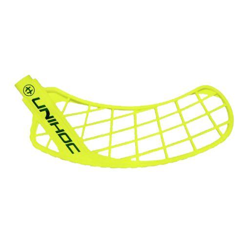 UNIHOC BLADE SONIC medium neon yellow L - Floorball Schaufel