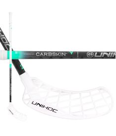 UNIHOC STICK EPIC CarbSkin FL 29 white/black 100cm