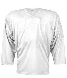 CCM JERSEY 10200 white junior - L/XL